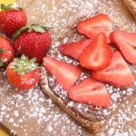 CC Breakfast Nutella on Multigrain Toast with Strawberry or Banana 2018 (1)