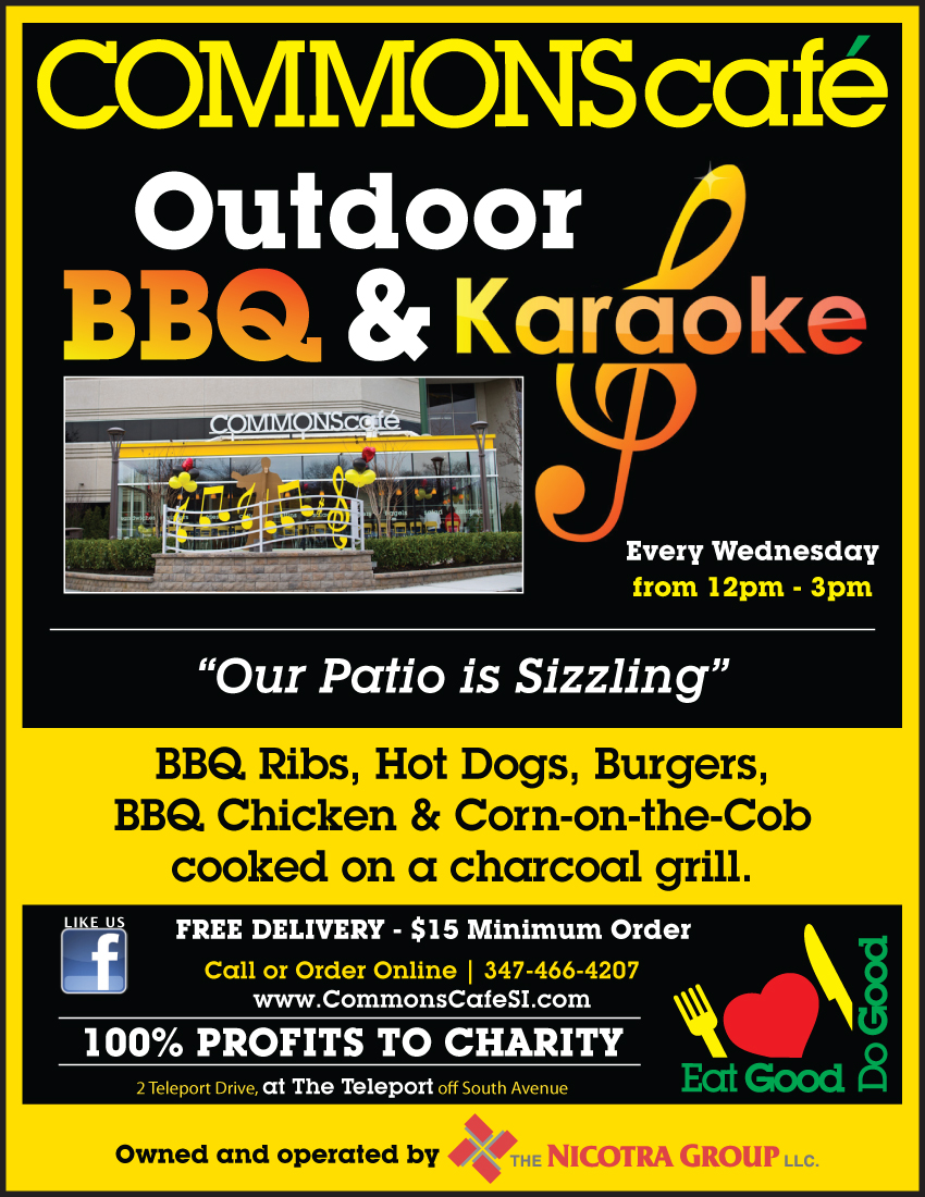 Outdoor BBQ & Karaoke - COMMONS café