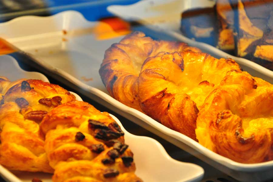 A photo of pastries at COMMONS Cafe